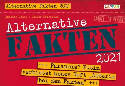 Alternative Fakten 2021 - Tageskalender