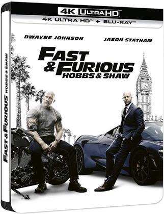 Fast & Furious: Hobbs & Shaw (2019) (Limited Edition, Steelbook, 4K Ultra HD + Blu-ray)