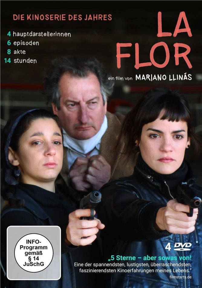 La Flor (4 DVDs)