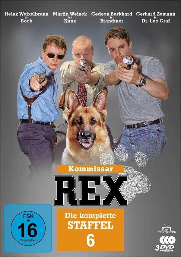 Kommissar Rex - Staffel 6 (3 DVDs)