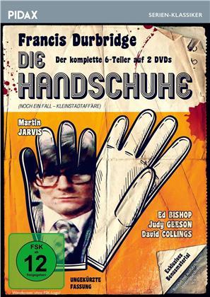 Die Handschuhe - Francis Durbridge - Der komplette 6-Teiler (Pidax Serien-Klassiker, Uncut, 2 DVD)
