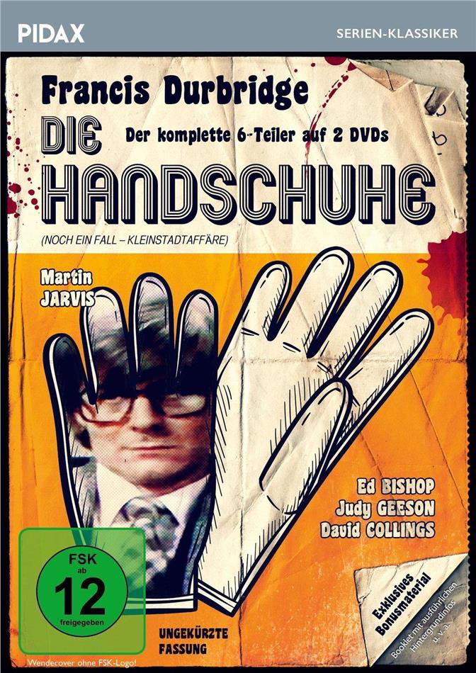 Die Handschuhe - Francis Durbridge - Der komplette 6-Teiler (Pidax Serien-Klassiker, Uncut, 2 DVDs)
