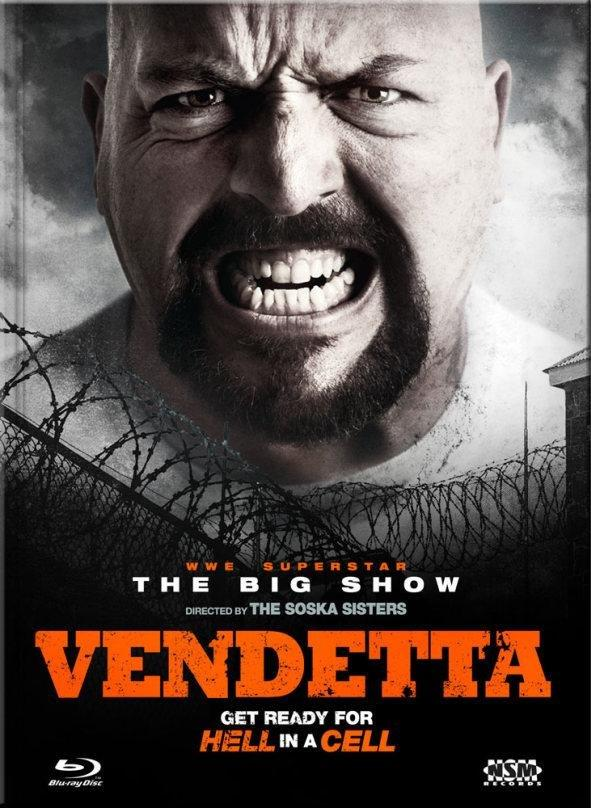 Vendetta (2015) (Cover C, Limited Collector's Edition, Mediabook, Uncut, Blu-ray + DVD)