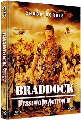 Braddock: Missing in Action 3 (1988) (Cover C, Limited Collector's Edition, Mediabook, Blu-ray + DVD)