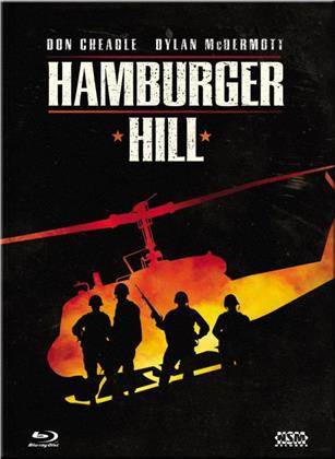 Hamburger Hill (1987) (Cover A, Collector's Edition Limitata, Mediabook, Uncut, Blu-ray + DVD)