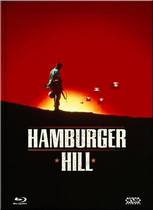 Hamburger Hill (1987) (Cover B, Collector's Edition Limitata, Mediabook, Uncut, Blu-ray + DVD)