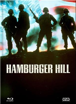 Hamburger Hill (1987) (Cover C, Collector's Edition Limitata, Mediabook, Uncut, Blu-ray + DVD)