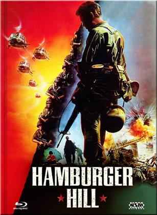 Hamburger Hill (1987) (Cover D, Collector's Edition Limitata, Mediabook, Uncut, Blu-ray + DVD)