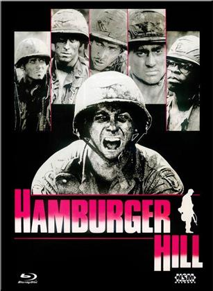 Hamburger Hill (1987) (Cover E, Limited Collector's Edition, Mediabook, Uncut, Blu-ray + DVD)