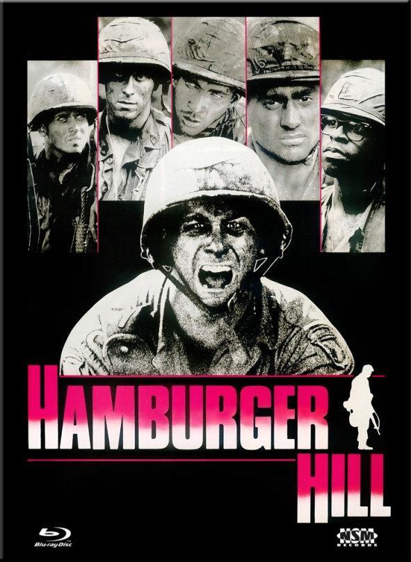 Hamburger Hill (1987) (Cover E, Collector's Edition Limitata, Mediabook, Uncut, Blu-ray + DVD)