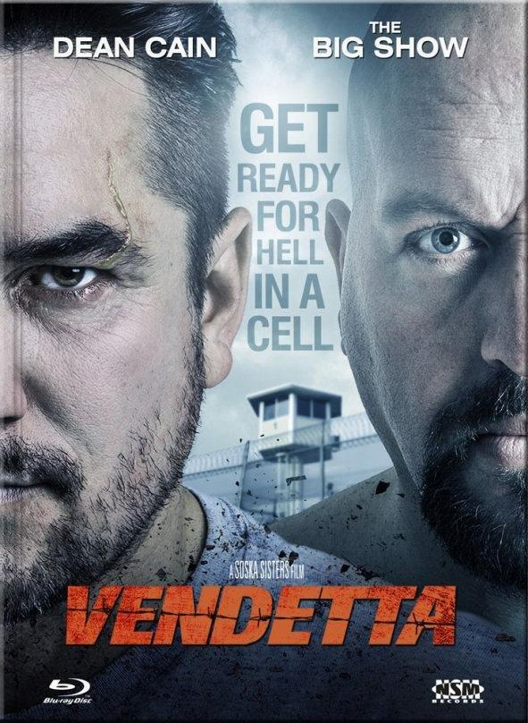 Vendetta (2015) (Cover A, Limited Collector's Edition, Mediabook, Uncut, Blu-ray + DVD)