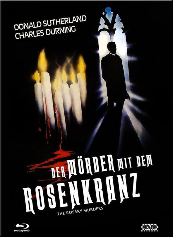 Der Mörder mit dem Rosenkranz (1987) (Cover A, Limited Collector's Edition, Mediabook, Blu-ray + DVD)