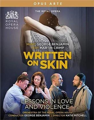 Benjamin, G. - Written On Skin - Lessons (2 Blu-rays)