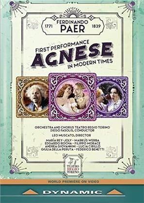 Ferdinando Paer (1771-1839) - Agnese (2 DVDs)