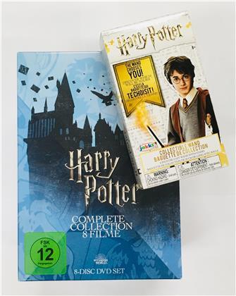 Harry Potter 1-7 - Complete Collection inkl. Sammler Zauberstab (Edizione Limitata, 8 DVD)