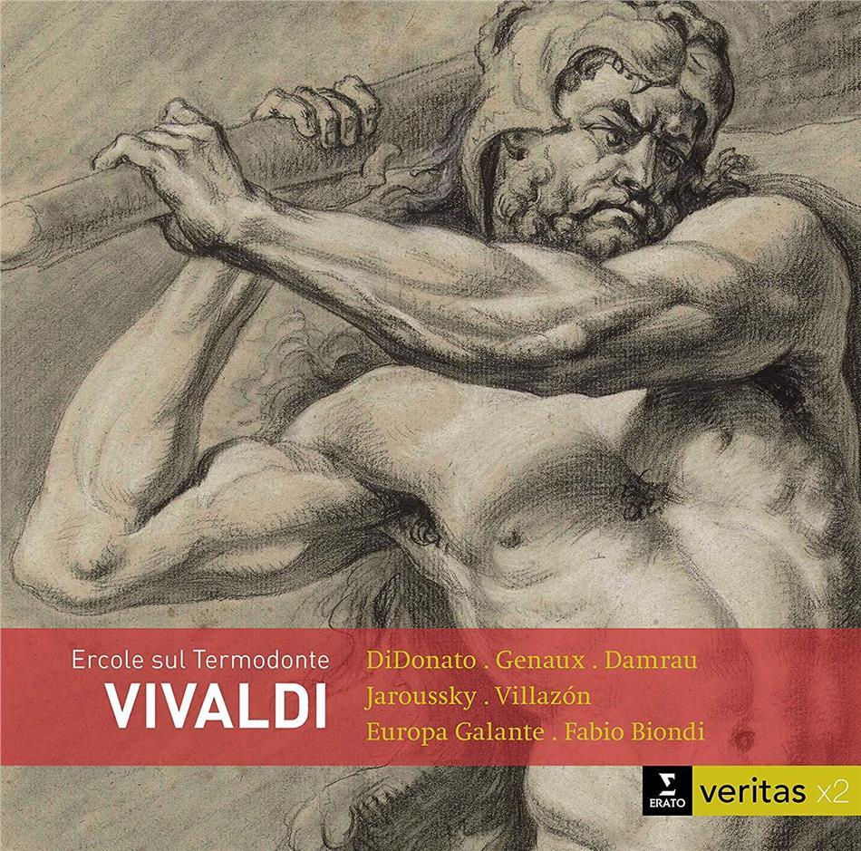 Diana Damrau, Rolando Villazón, Joyce DiDonato, Vivca Genaux, Philippe Jaroussky, … - Ercole sul Termodonte (2 CDs)