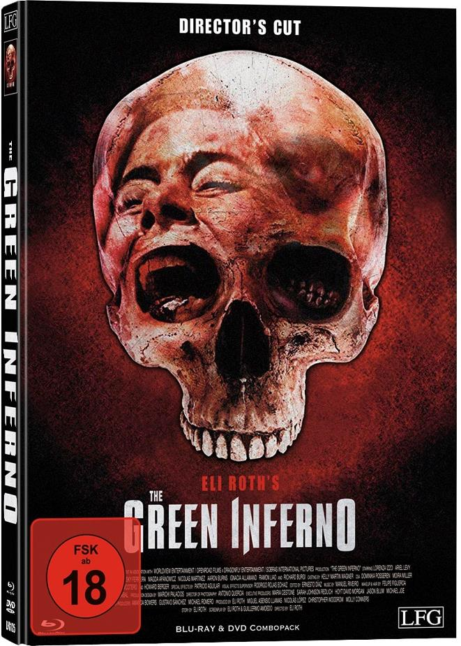 The Green Inferno (2013) (Cover D, Director's Cut, Edizione Limitata, Mediabook, Uncut, Blu-ray + DVD)