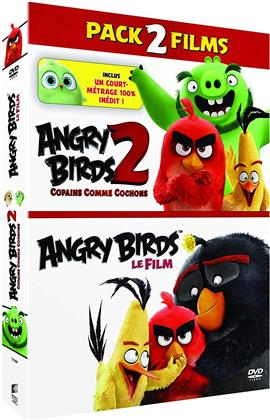 Angry Birds - Le Film / Angry Birds 2 - Copains comme cochons - Pack 2 Films (2 DVDs)
