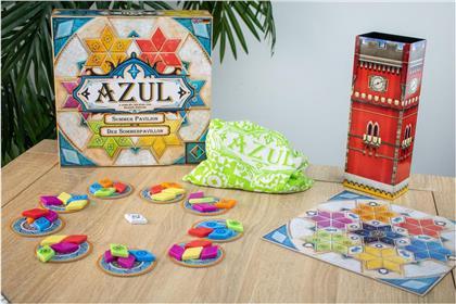 Azul Sommer Pavillion - ab 8 Jahren, 2-4 Spieler,