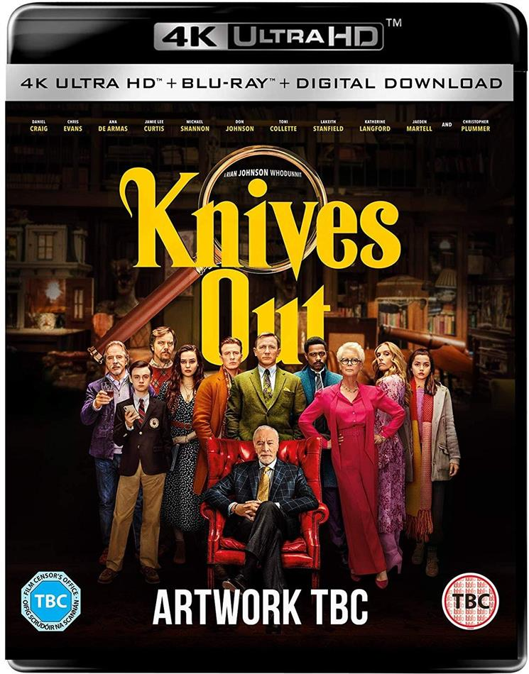 Knives Out (2019) (4K Ultra HD + Blu-ray)