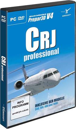 CRJ Professional Prepar3D V4 [Add-On]