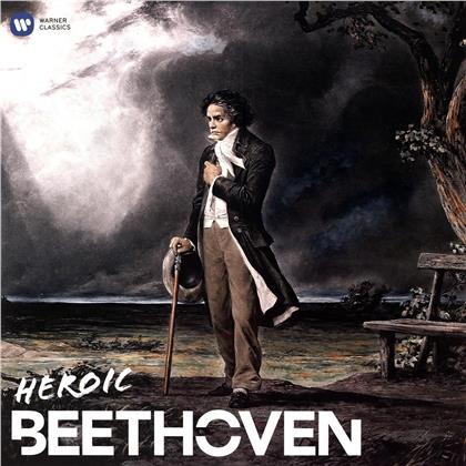 Artemis Quartett, Nikolaus Harnoncourt, Renaud Capuçon, + & Ludwig van Beethoven (1770-1827) - Heroic Beethoven (Best of) (2 LPs)