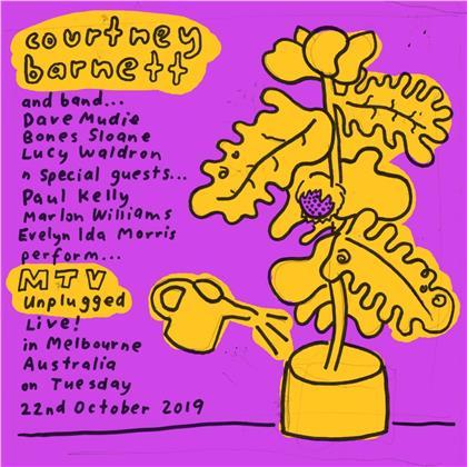 Courtney Barnett - MTV Unplugged Live in Melbourne (Blue Vinyl, LP)