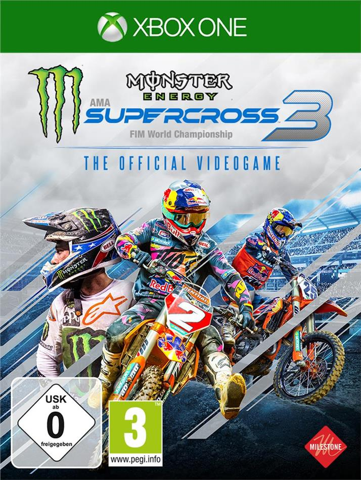 Monster Energy Supercross 3 - The Official Videogame