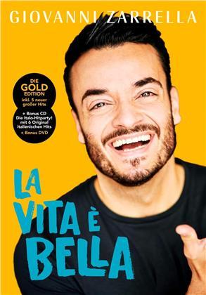 Giovanni Zarrella - La vita è bella (Gold Edition, Limited Fanbox, CD + DVD)