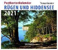 Rügen/Hiddensee 2021 Postkartenkalender