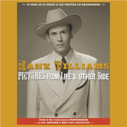 Hank Williams - Pictures From Life's Other Side:The Man and His Mu (CD + Buch)