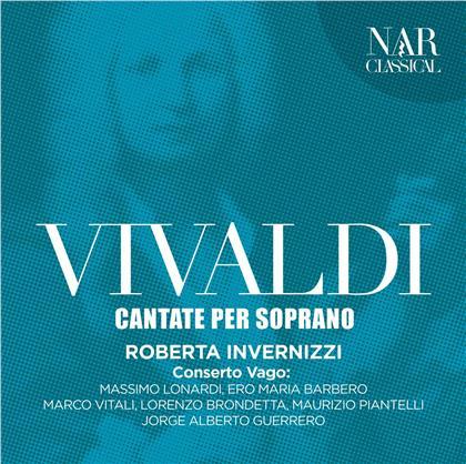 Conserto Vago, Antonio Vivaldi (1678-1741) & Roberta Invernizzi - Cantate Per Soprano