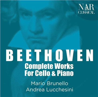 Ludwig van Beethoven (1770-1827), Mario Brunello & Andrea Lucchesini - Complete Works For Cello And Piano