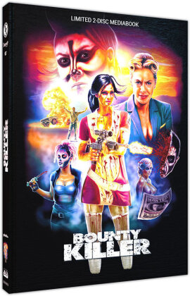Bounty Killer (2013) (Cover B, Limited Edition, Mediabook, Blu-ray + DVD)