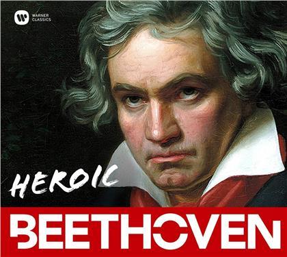 Artemis Quartett, Nikolaus Harnoncourt, Renaud Capuçon, + & Ludwig van Beethoven (1770-1827) - Heroic Beethoven (3 CDs)