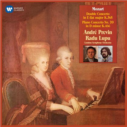 Wolfgang Amadeus Mozart (1756-1791), Radu Lupu, André Previn (*1929) & London Symphony Orchesta - Concerto For Two Pianos