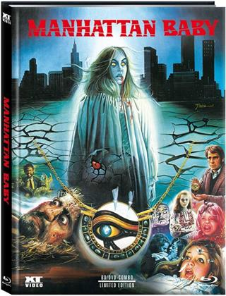 Manhattan Baby (1982) (Cover E, Limited Edition, Mediabook, Blu-ray + DVD)