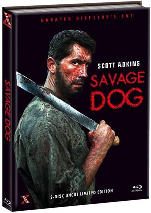 Savage Dog (2017) (Unrated Director's Cut, Cover C, Limited Edition, Mediabook, Uncut, Blu-ray + DVD)