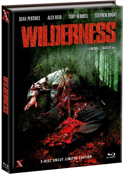 Wilderness (2006) (Cover D, Limited Edition, Mediabook, Uncut, Blu-ray + DVD)