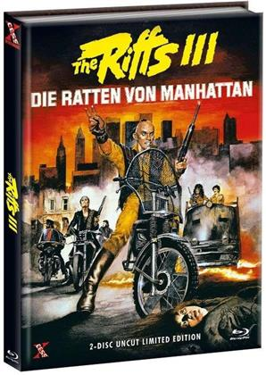 The Riffs 3 - Die Ratten von Manhattan (1984) (Cover A, Edizione Limitata, Mediabook, Uncut, Blu-ray + DVD)