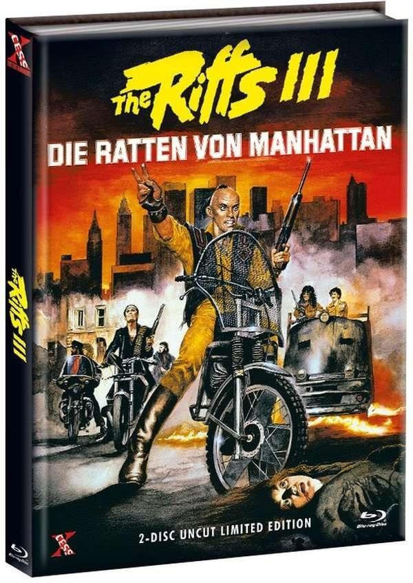 The Riffs 3 - Die Ratten von Manhattan (1984) (Cover A, Edizione Limitata, Mediabook, Uncut, Blu-ray + DVD)