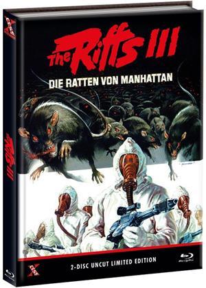 The Riffs 3 - Die Ratten von Manhattan (1984) (Cover B, Limited Edition, Mediabook, Uncut, Blu-ray + DVD)