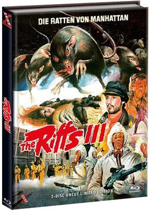 The Riffs 3 - Die Ratten von Manhattan (1984) (Cover C, Limited Edition, Mediabook, Uncut, Blu-ray + DVD)