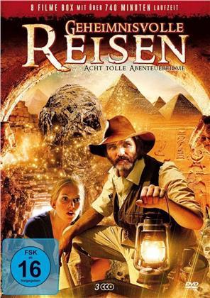 Geheimnisvolle Reisen - Acht tolle Abenteuerfilme (3 DVDs)