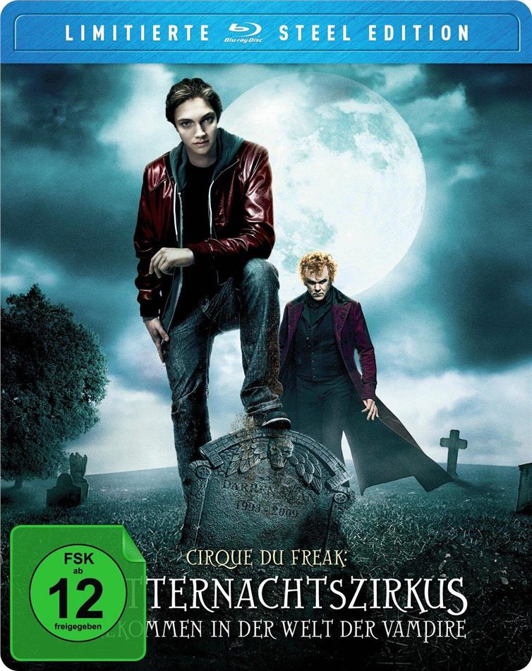 Mitternachtszirkus - Willkommen in der Welt der Vampire - Cirque du Freak (2009) (Steel Edition, Limited Edition)
