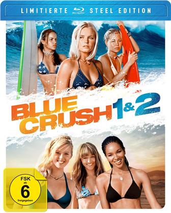 Blue Crush 1 & 2 (Steel Edition, Limited Edition, 2 Blu-rays)