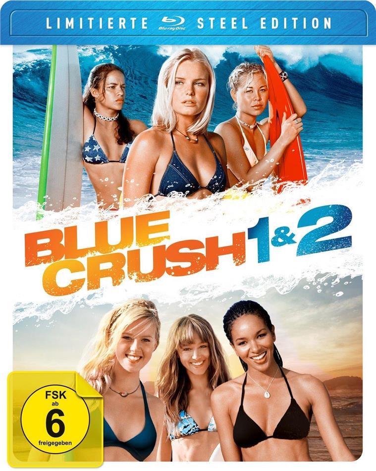Blue Crush 1 & 2 (Steel Edition, Limited Edition, 2 Blu-rays)