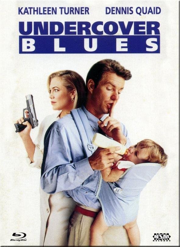 Undercover Blues (1993) (Cover C, Limited Collector's Edition, Mediabook, Blu-ray + DVD)
