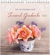 Tausend Geschenke 2021 - Wandkalender
