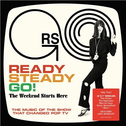"""Ready, The Weekend Starts Here (Boxset, 7"""" Single + 9 12"""" Maxis)"""